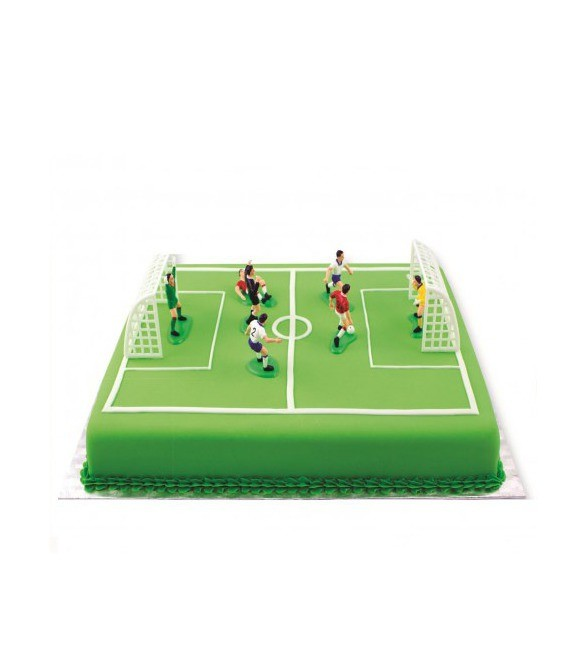 deko fussball set 9 teilig. Black Bedroom Furniture Sets. Home Design Ideas