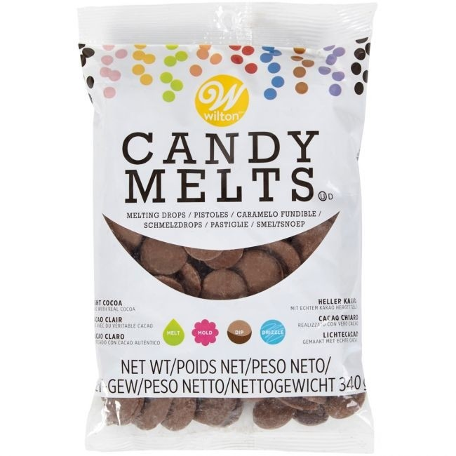 Candy Melts®, 340g Light Cocoa