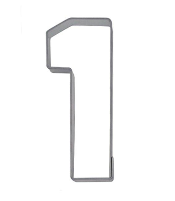 Ausstecher Nummer 1, 6,5cm