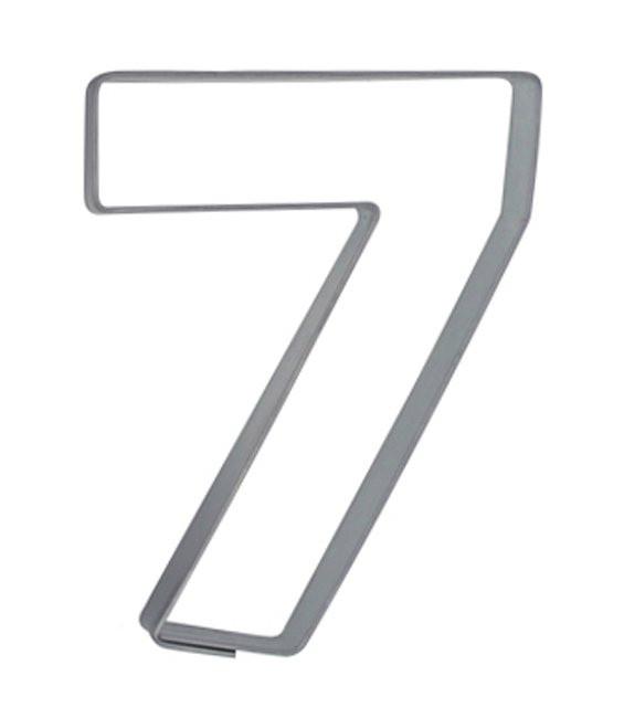 Ausstecher Nummer 7, 6,5cm