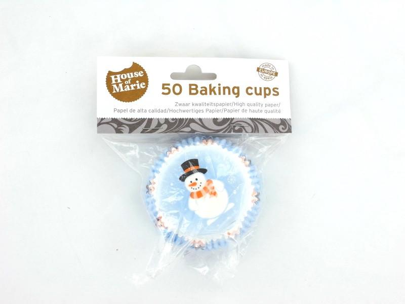Wilton Muffinförmchen Baking Cups Red Green, 75 Stück