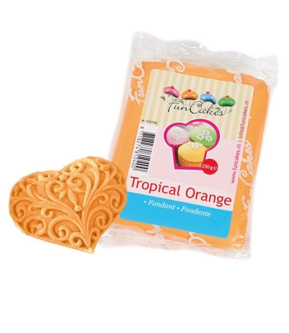 Fondant, 250g Tropical Orange