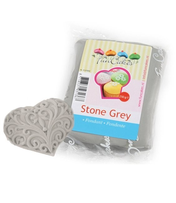 Fondant, 250g Stone Grey