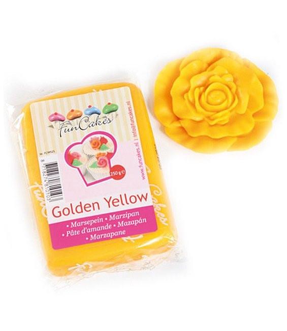 Marzipan, 250g Golden Yellow