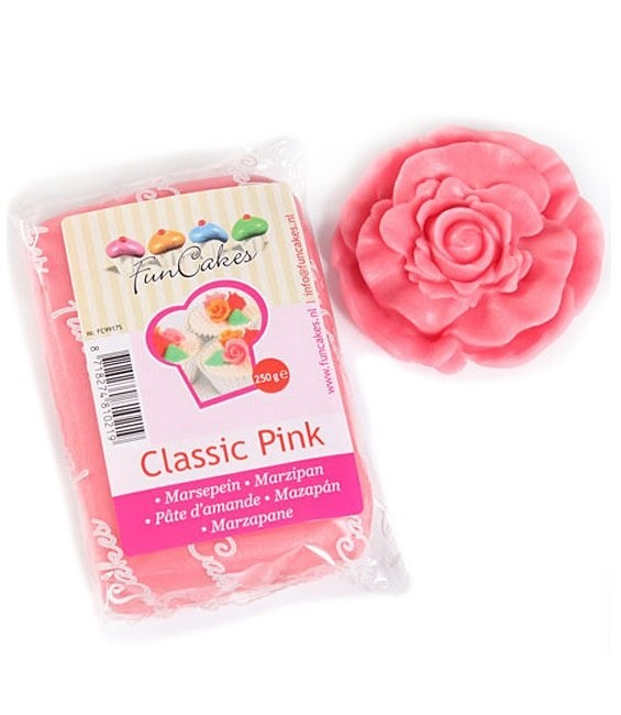 Marzipan, 250g Classic Pink