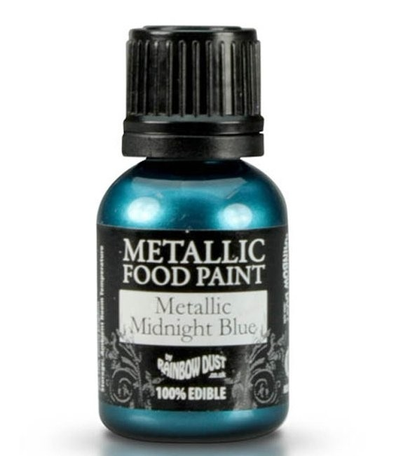 RD Metallic Food Paint Metallic Midnight Blue