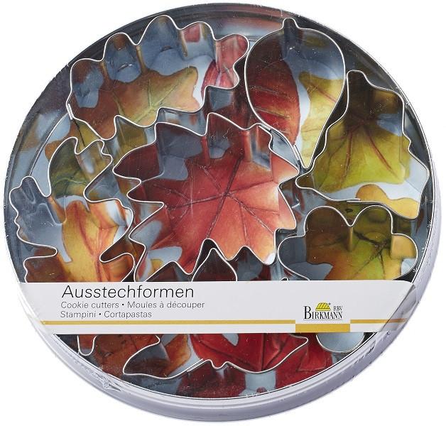Ausstechformen Blätter 7 teilig in der Dose