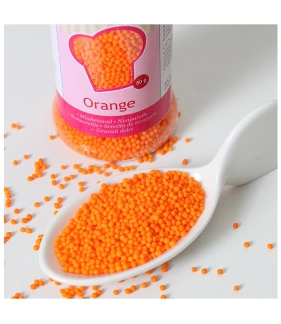 Nonpareils 80g, Orange