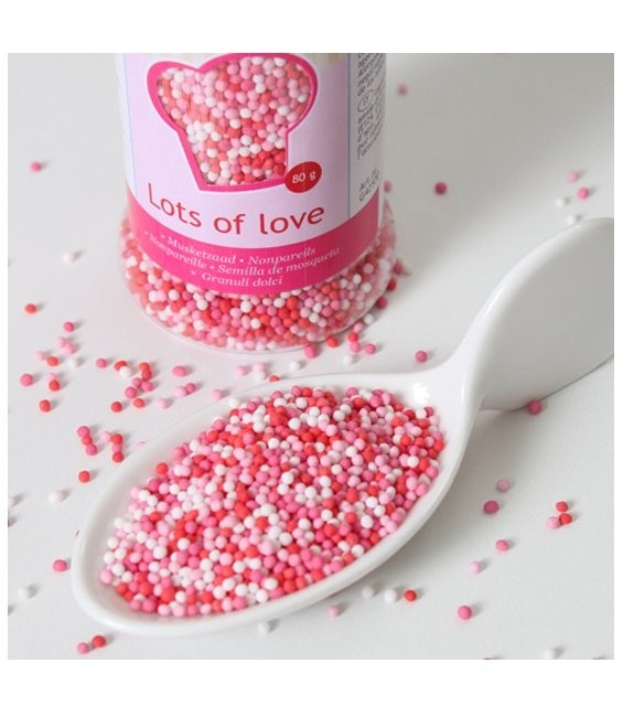 Nonpareils 80g, Love Mix