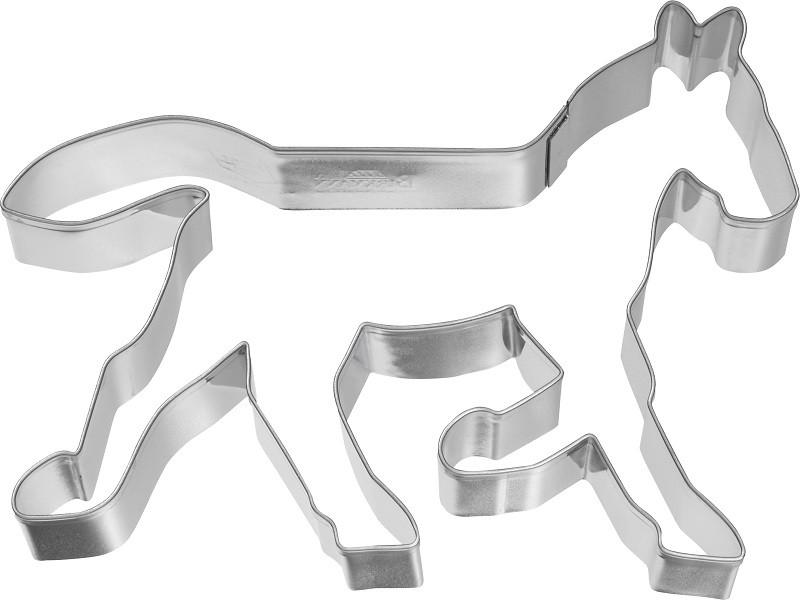 Ausstecher Pferd im Trab 12 cm