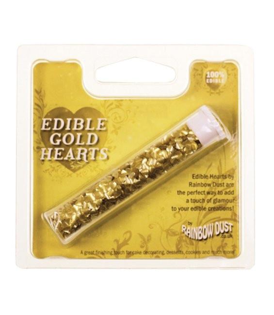 RD Edible Herzen Gold