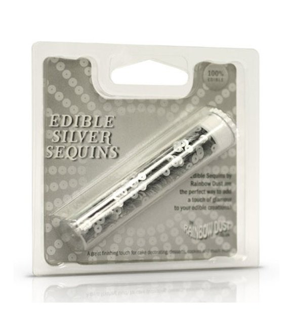 RD Edible Sequins Silver
