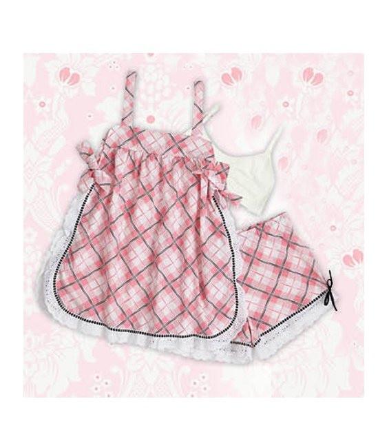 Baby Doll Pretty in Plaid Größe Medium