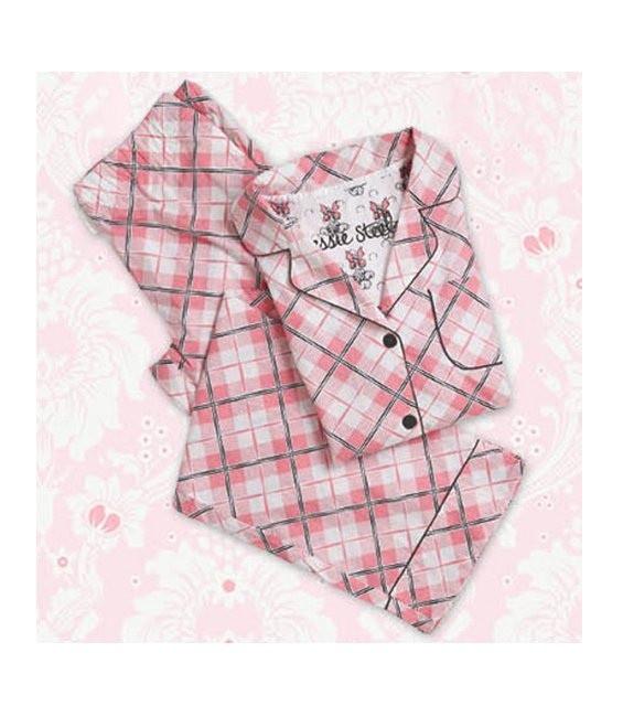 Pyjama Pretty in Plaid Größe Medium