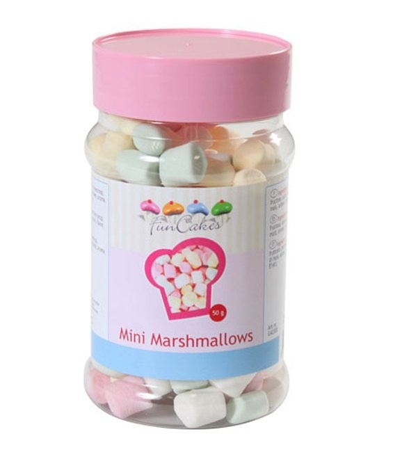 Bunte Mini Marshmallows