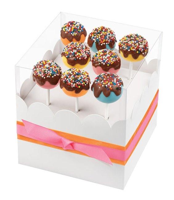Cake Pops Präsentbox Modern