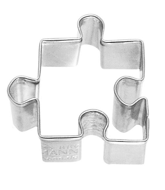 Ausstecher Puzzle, 4,0cm
