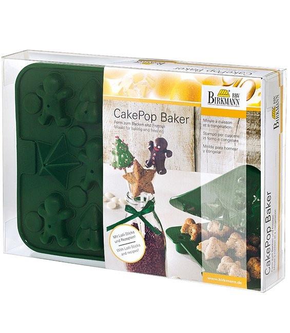 Silikonbackform Cake Pops Baker X-Mas