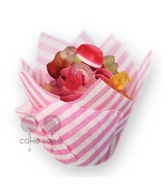 SK Muffin Wraps Candy Striped, 50 Stück