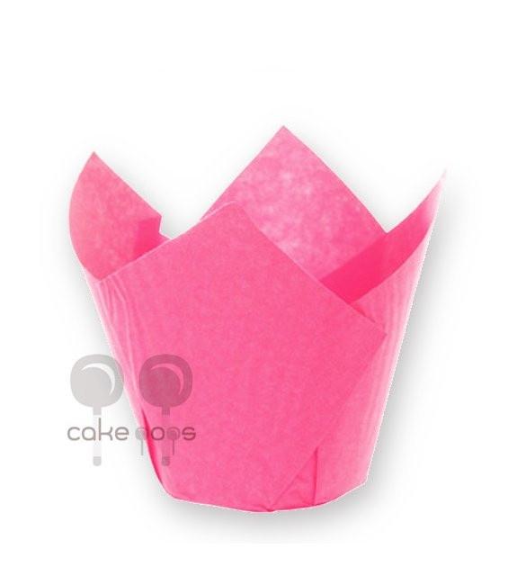 SK Muffin Wraps Pink, 50 Stück