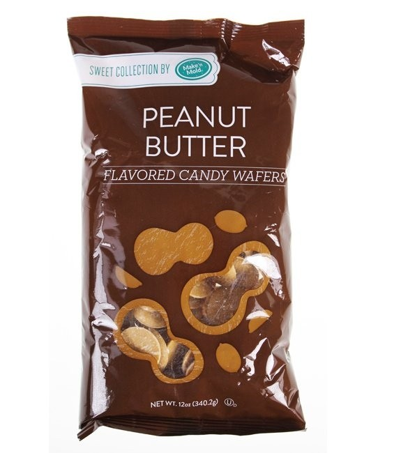 Candy Wafers, 340g Peanut Butter