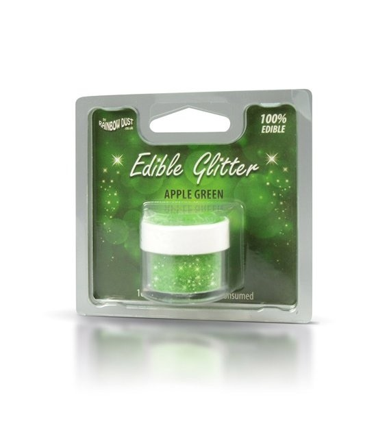 RD Edible Glitter Apple Green