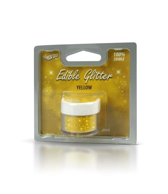 RD Edible Glitter Yellow