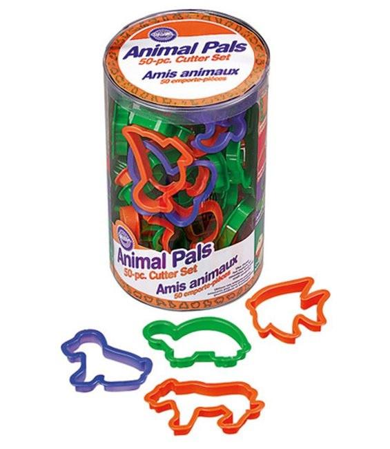 Ausstecher Tiere, 50 Stück