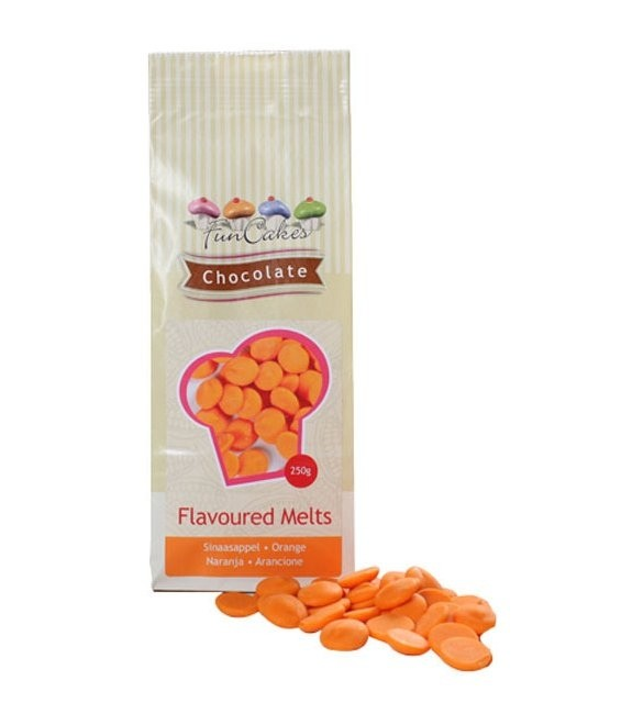 Schokomelts, 250g Orange