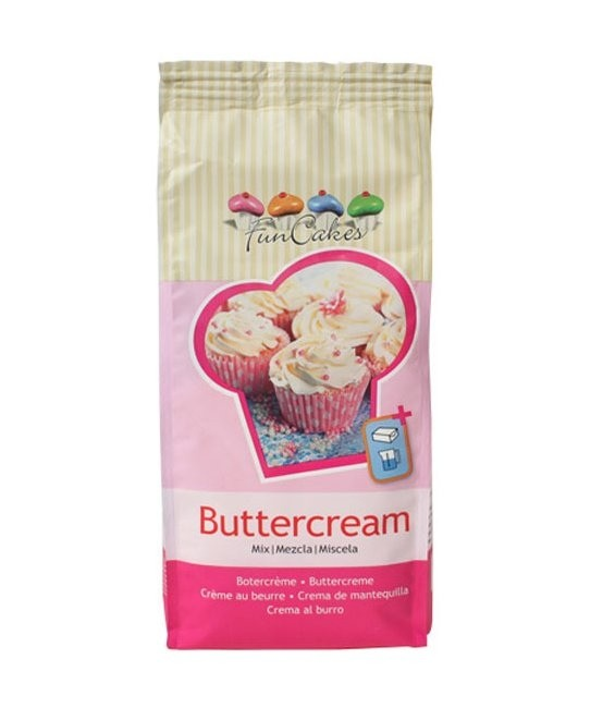 Buttercreme Mix, 500g MHD 31.01.2020
