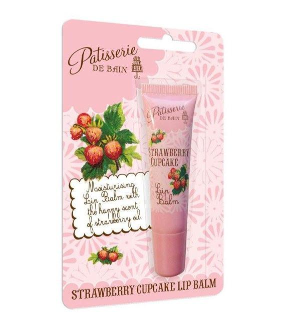 Patisserie de Bain Lippencreme Erdbeer Cupcake