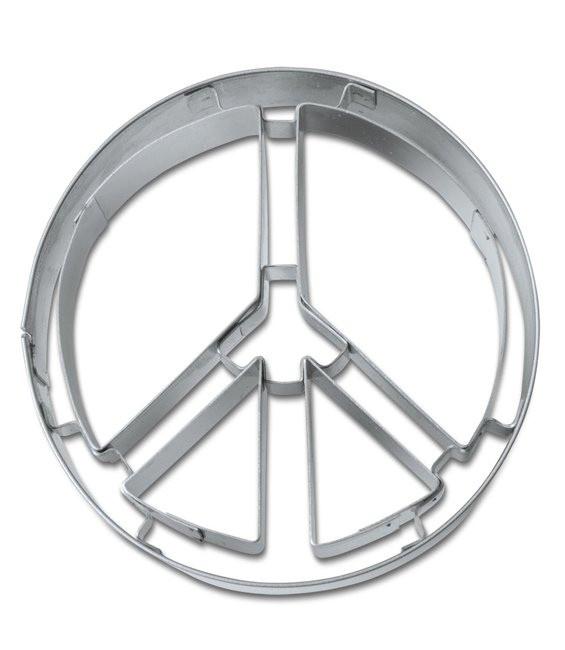 Ausstecher Peace Zeichen, 6,5cm