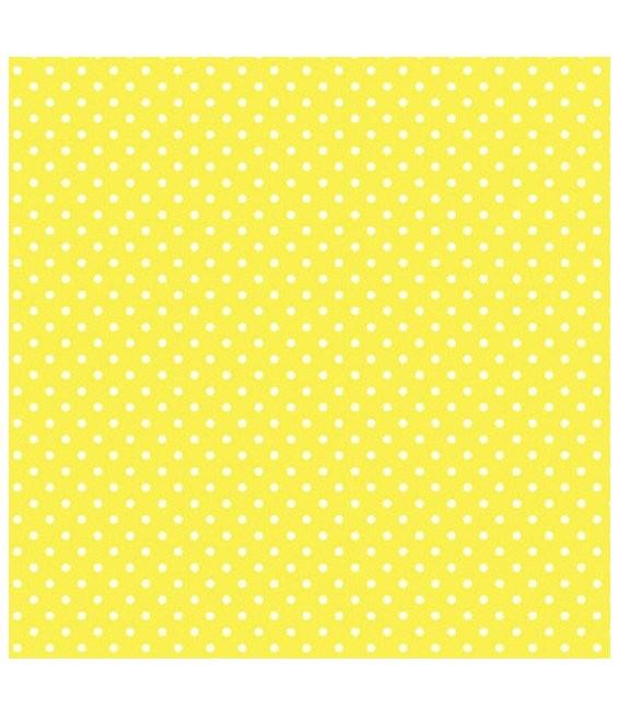 Zartes Lebensmittel Packpapier Gelb, 10 Blatt