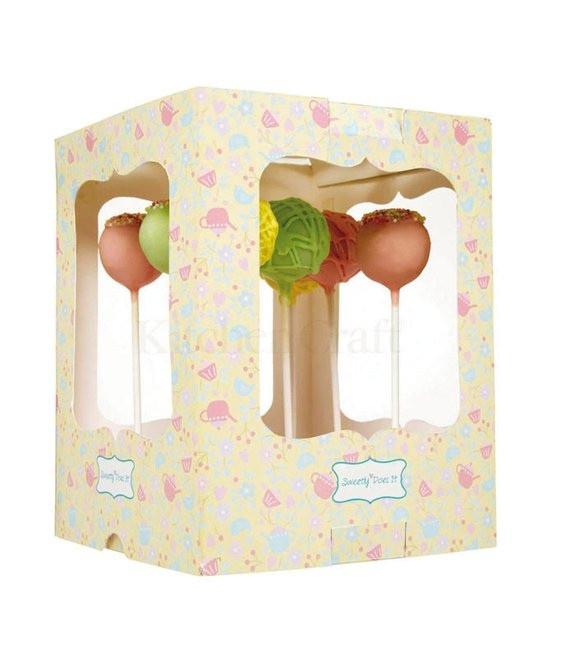 Cake Pops Präsentbox Sweetly Does It, 2 Stück