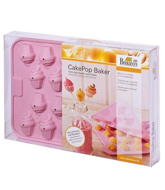 Silikonbackform Cake Pops Baker Cupcakes