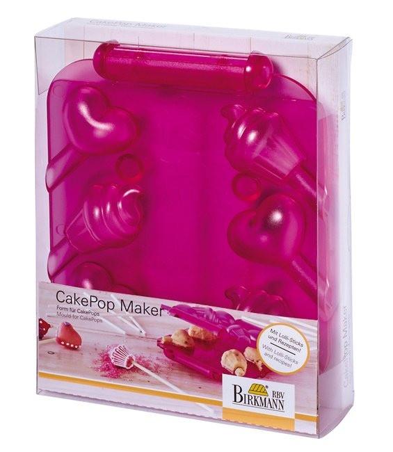 Cake Pops Maker Herzen & Cupcakes