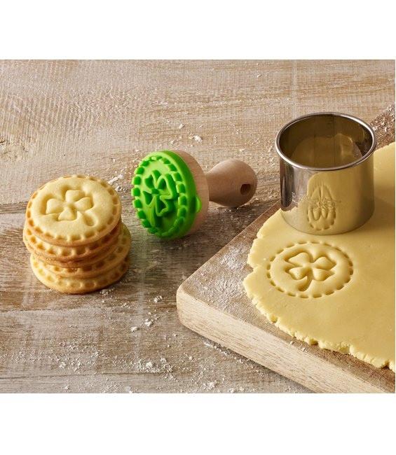 Cookie- Keksstempel Mini Kleeblatt, 5cm