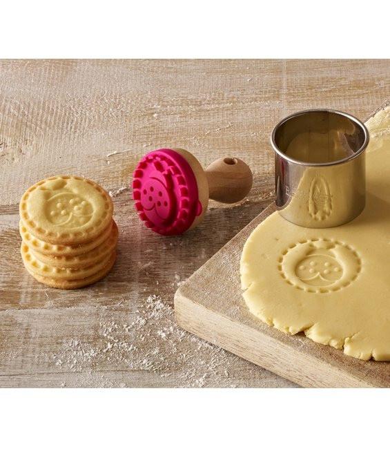 Cookie- Keksstempel Mini Marienkäfer, 5cm