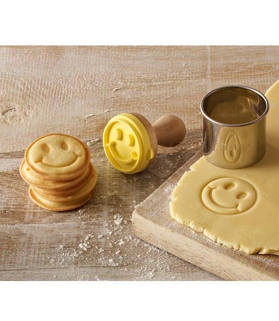 Cookie- Keksstempel Mini Smiley, 5cm
