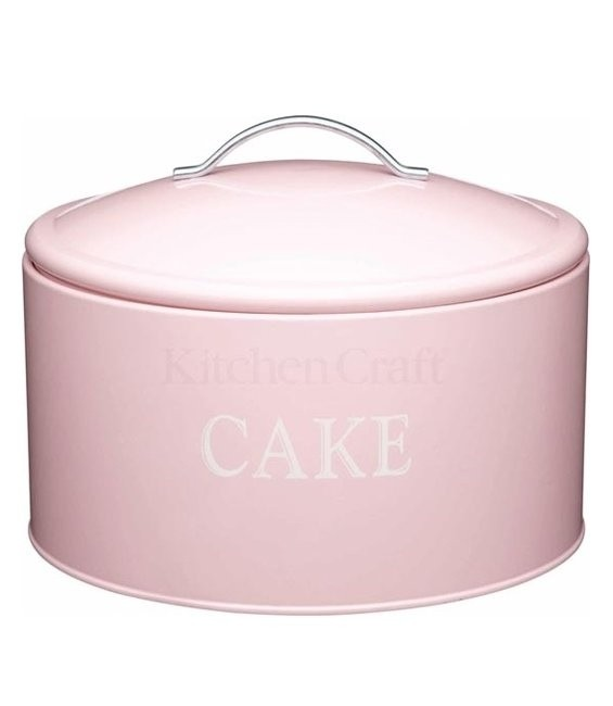 Grosse rosa Torten- Kuchen- Keksdose