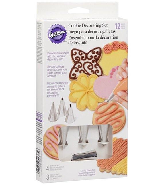 Cookie Dekorations Set, 12-teilig