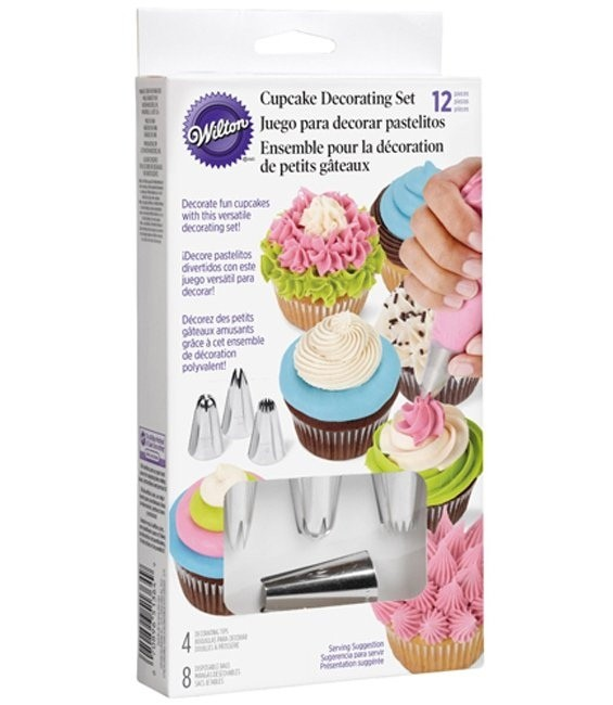 Cupcake Dekorations Set, 12-teilig