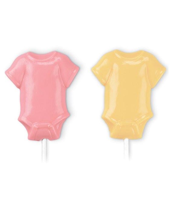 Schokolutscher Form Baby Strampelanzüge