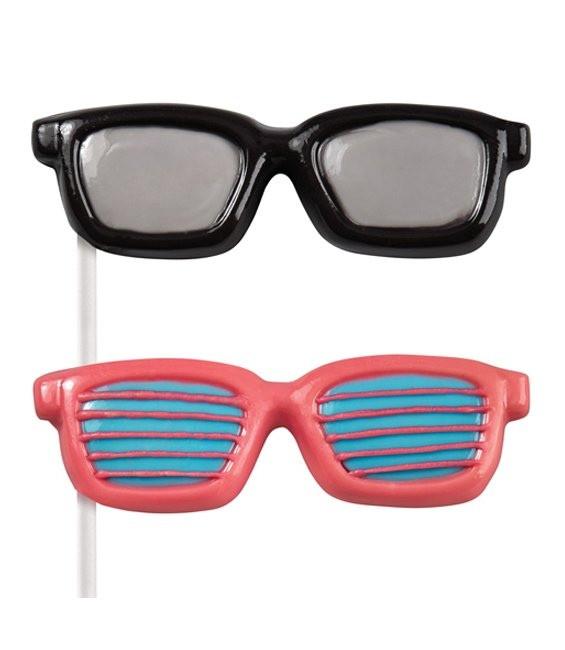 Schokolutscher Form Sonnenbrille
