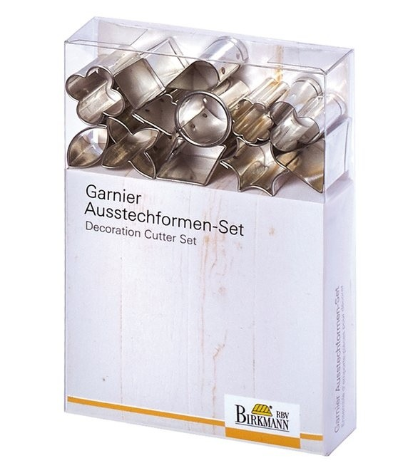 Garnier-Ausstecherformen Set Tea Time Mini, 12 Stück