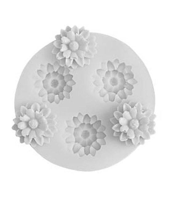Fondant Silikonform Blume