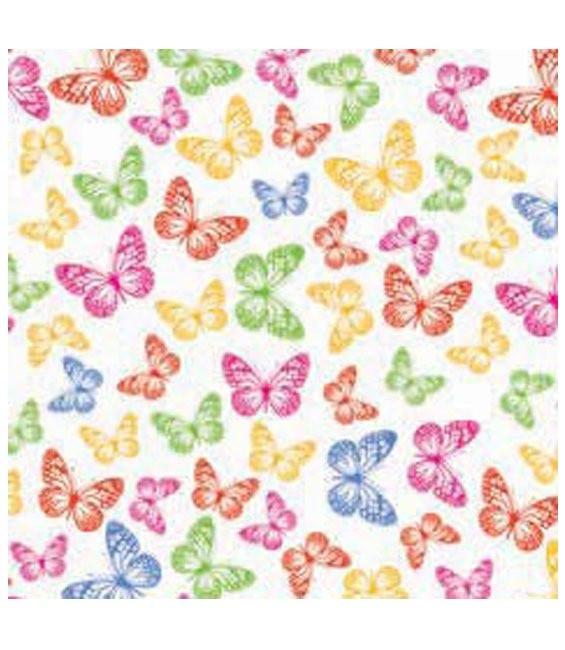 Transferfolie Schmetterlinge, 2 Stück