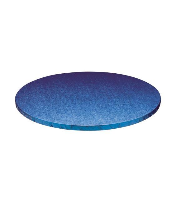 Stabile Runde Tortenunterlage Blau, 25cm