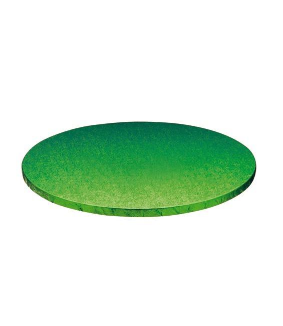 Stabile Runde Tortenunterlage Grün, 25cm