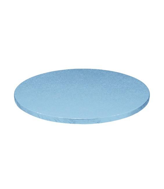 Stabile Runde Tortenunterlage Himmelblau, 25cm